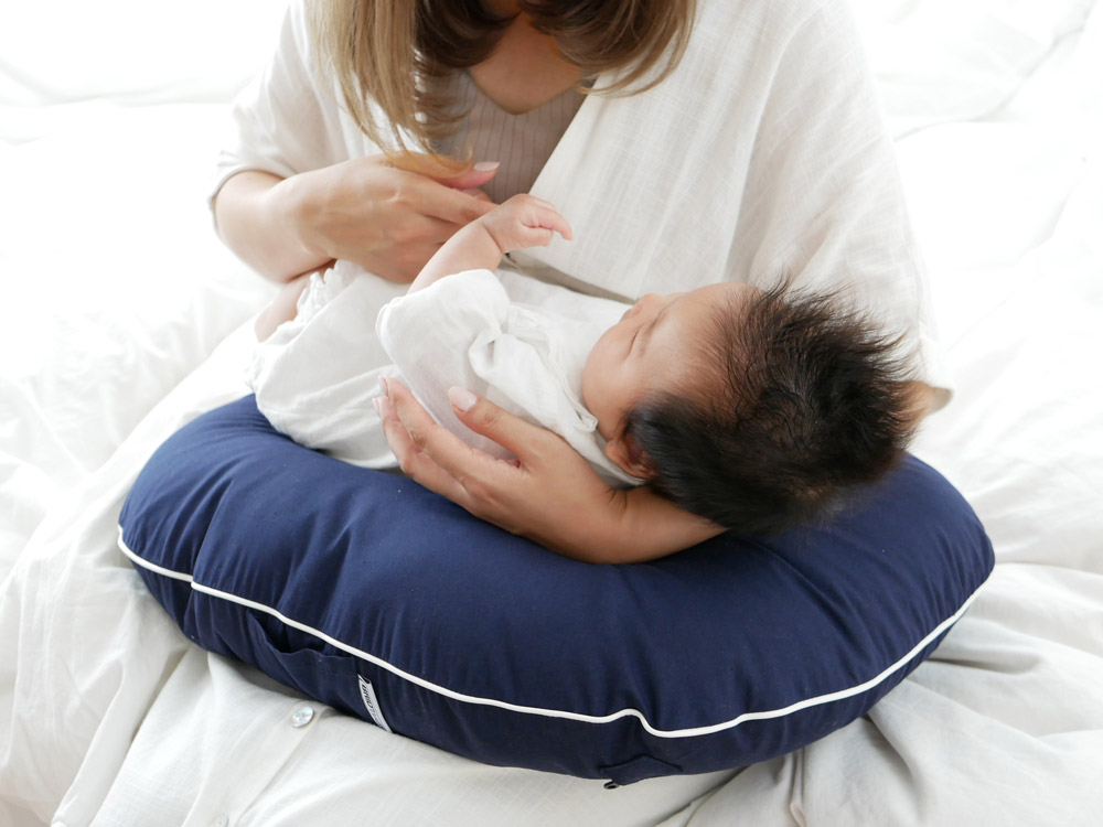【BRID BABY】授乳クッション ネイビー
