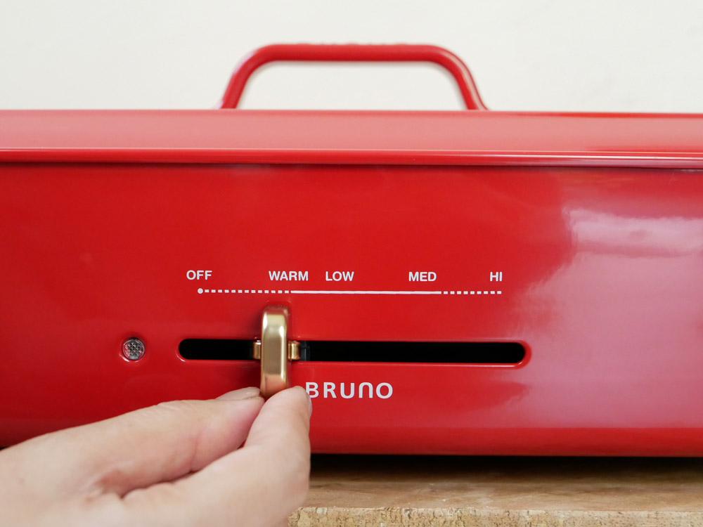 【BRUNO】ホットプレート グランデサイズ レッド