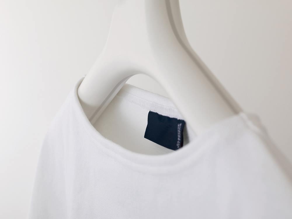 【like-it】Midline 370 滑り止めがついた衣類ハンガー 1本 ホワイト