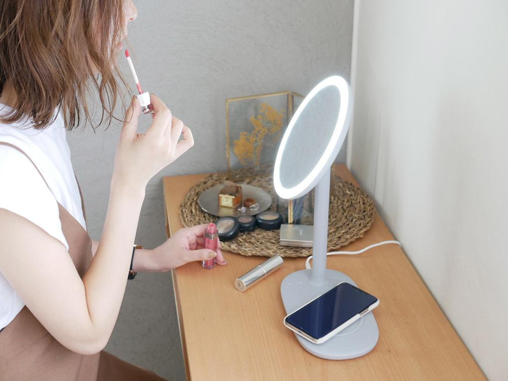 【CoCo:LO】 beauty actress ミラー /ライトグレー