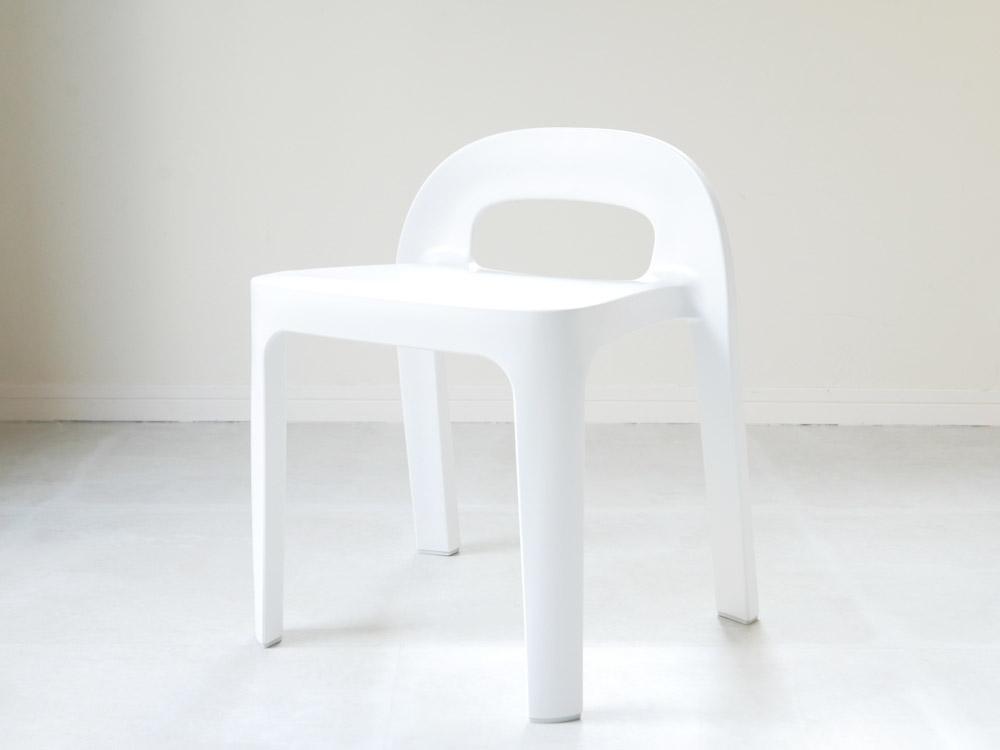 【RETTO】Aラインチェア ホワイト