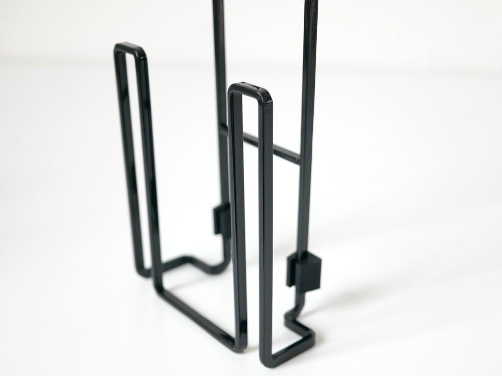 【tower】蛇口にかけるドライホルダー ブラック