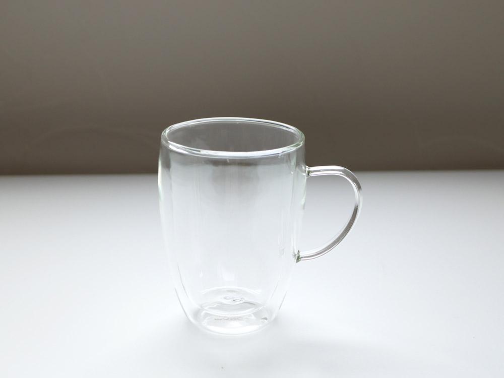 【DULTON】ダブルウォールグラス マグ 350ml