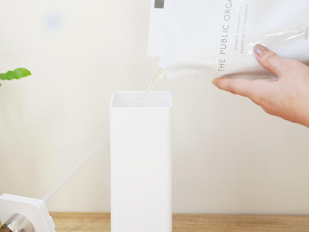【tower】マグネットツーウェイディスペンサー コンディショナー ホワイト