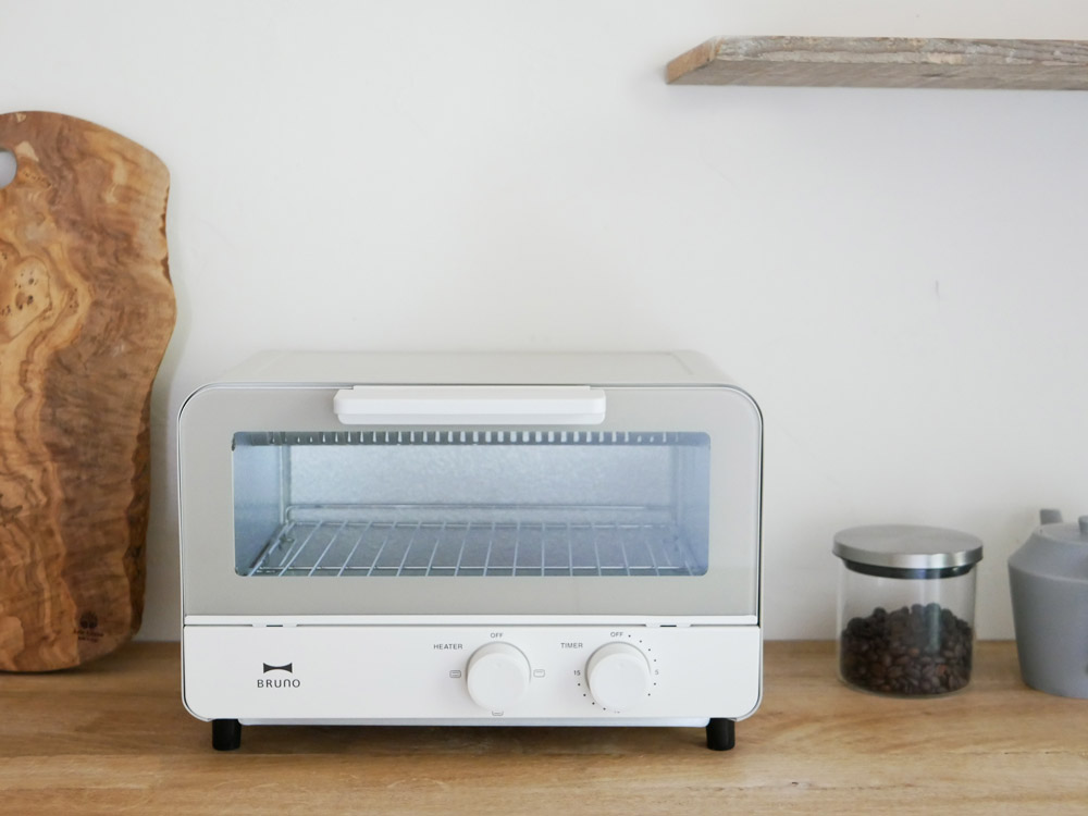 【BRUNO】オーブントースター ウォームグレー