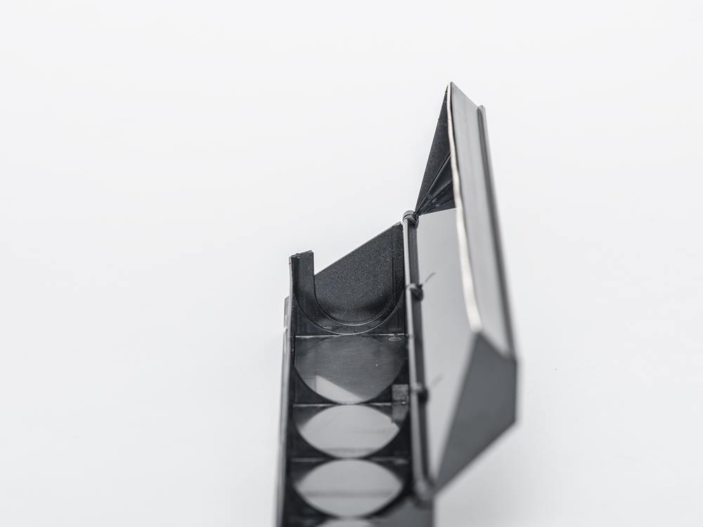 【ideaco】マグネット付きラップホルダー r30 ブラック