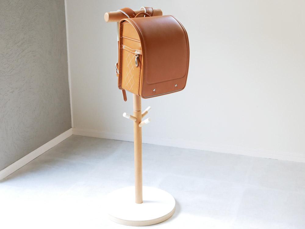 【Ply wood Series】子供ハンガー ランドセルラック