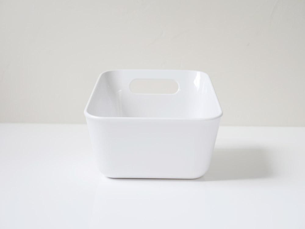 【RETTO】湯手おけ 角 ホワイト