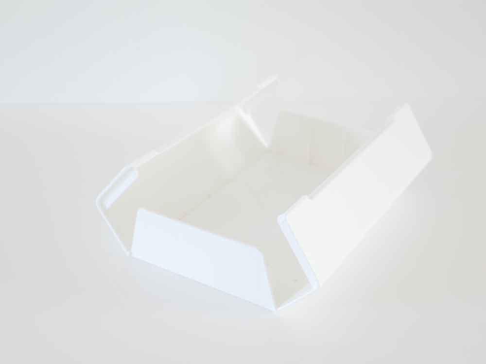 【WALL】ティッシュケース ホワイト