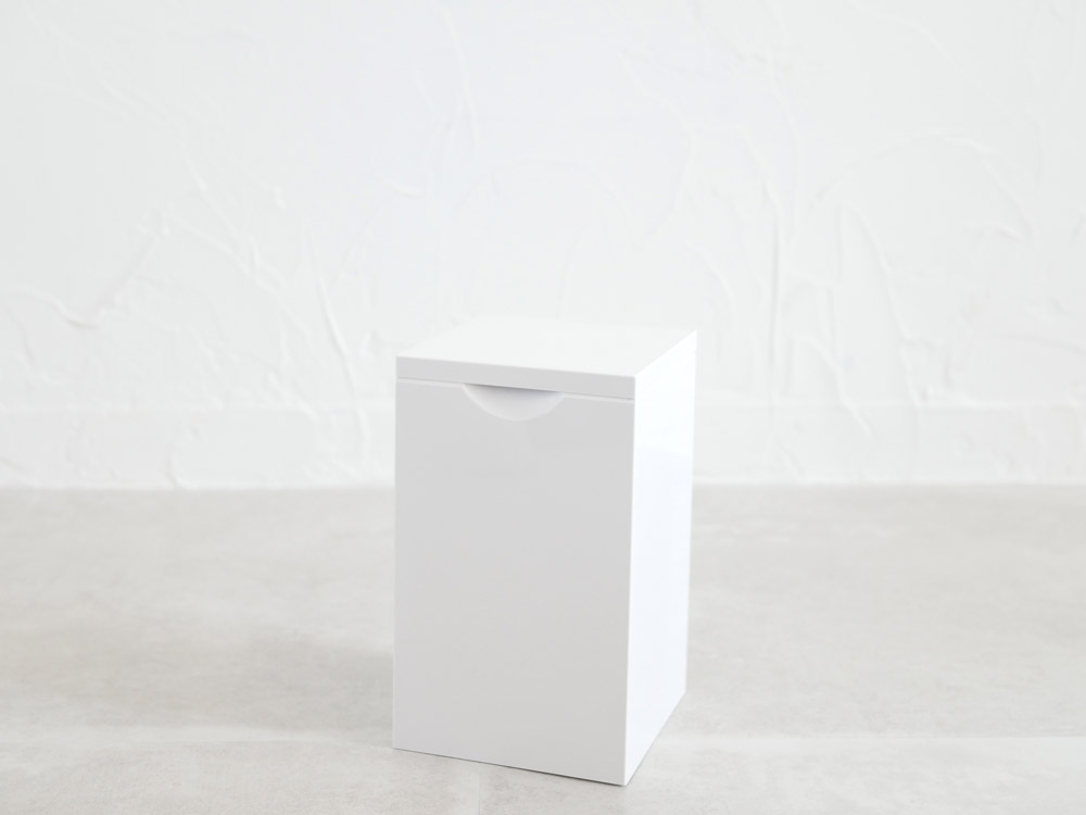 【MARNA】トイレポットホワイト (W-062WW )