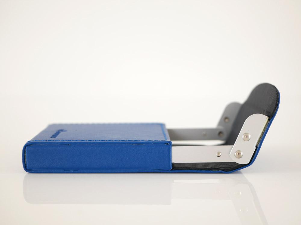 【DULTON】カードケース  スライダー ロイヤルブルー