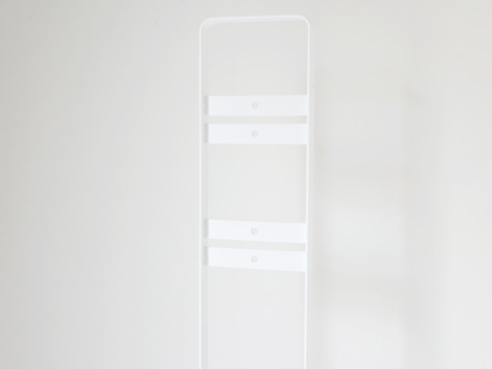 【tower】コードレスクリーナースタンド ホワイト