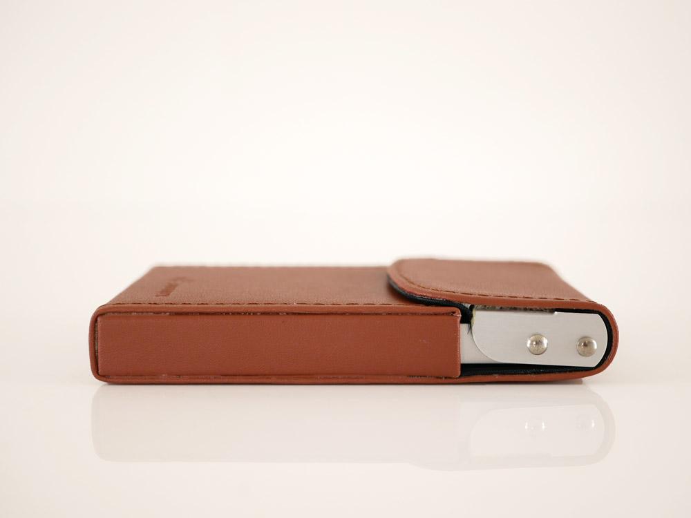 【DULTON】カードケース  スライダー ブラウン