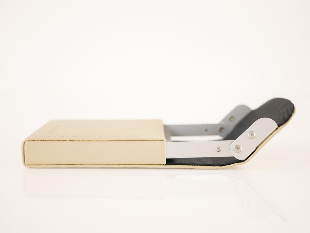 【DULTON】カードケース  スライダー アイボリー