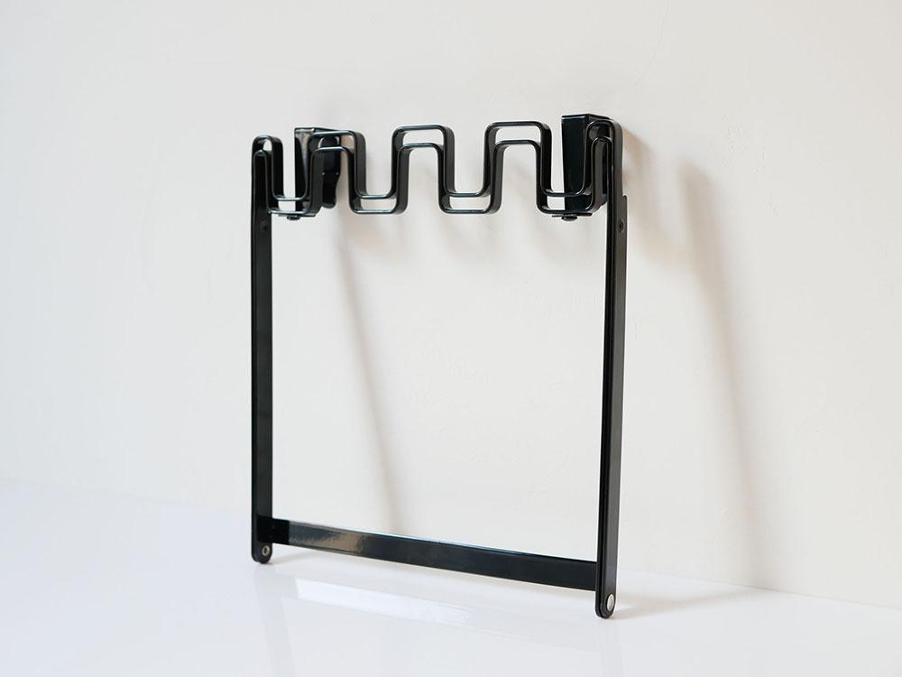 【tower】レジ袋ハンガー ブラック