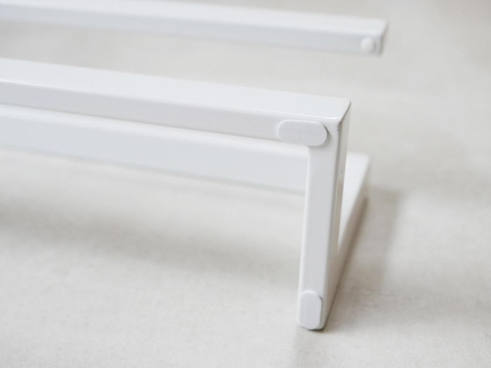 【LINE】スリッパラック ホワイト