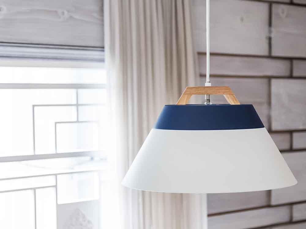 【BRID】LAMP by 2TONE 3バブル ペンダントライト(電球なし) ホワイト