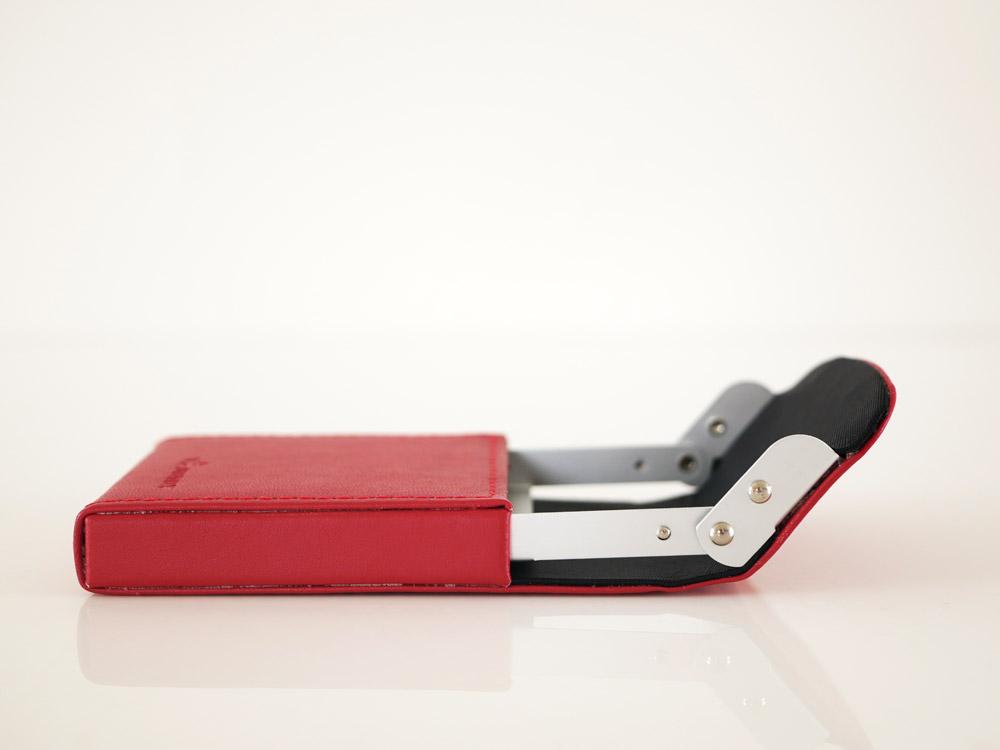 【DULTON】カードケース  スライダー レッド