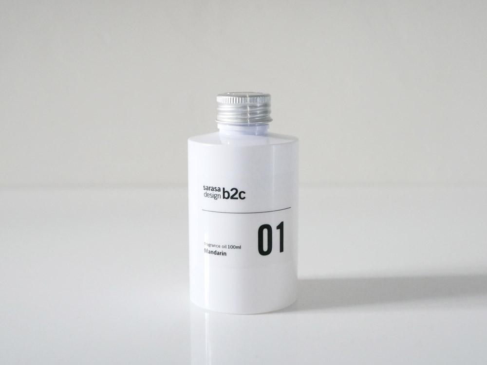 【b2c】 アロマ&フラワーベースラインスリム L /ホワイト