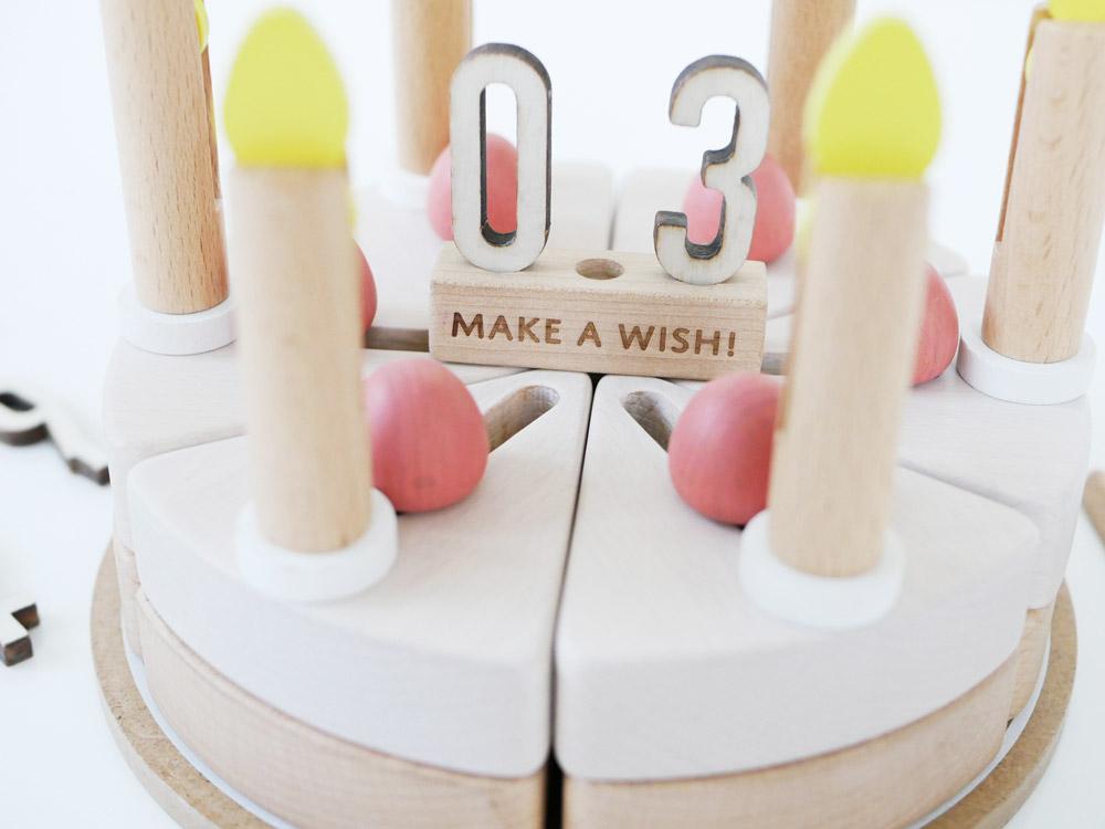 【dou?】 木のケーキ make a wish