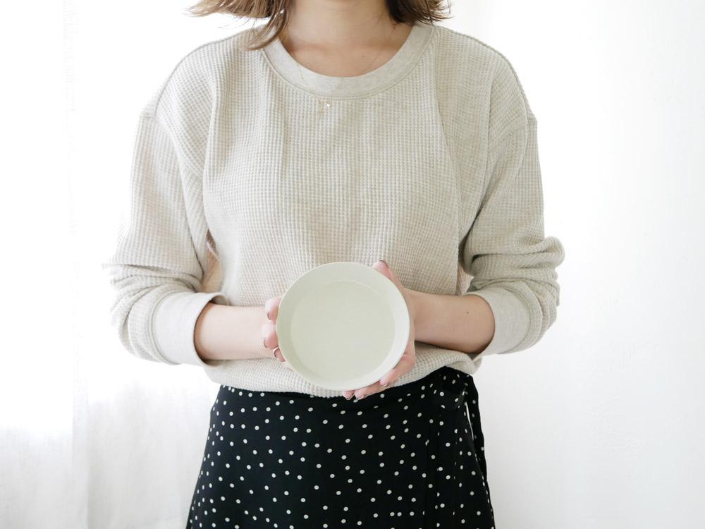 【usumono】plate11 サンドホワイト