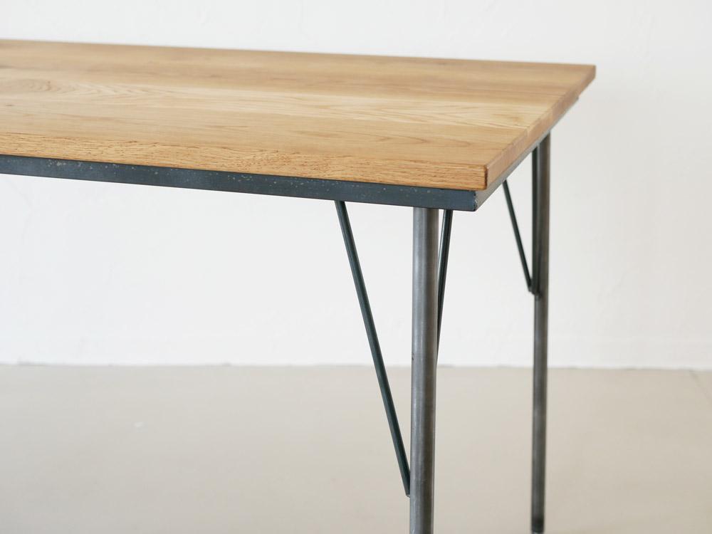【SIKAKU】Oak ダイニングテーブル/150cm【受注生産品・メーカー直送・代引き不可商品】