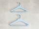 【like-it】Midline 420 滑り止めがついた衣類ハンガー 1本 ライトブルー