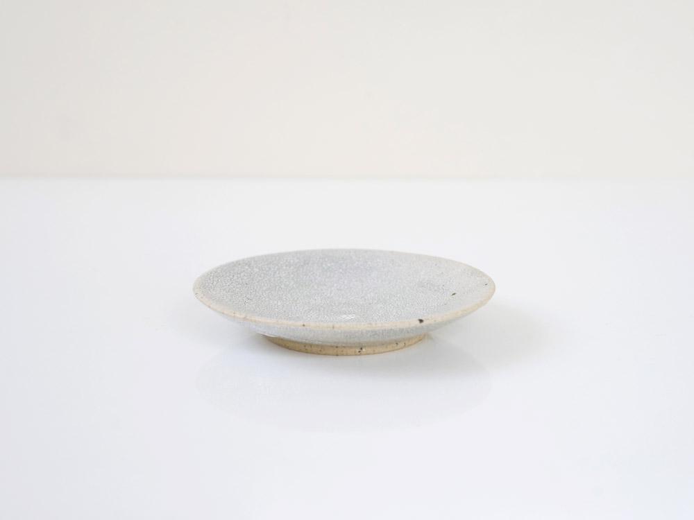 【兵山窯】錆かいらぎ まる皿(S)