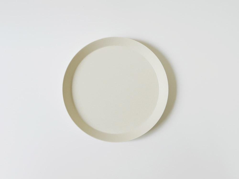 【usumono】plate18 サンドホワイト