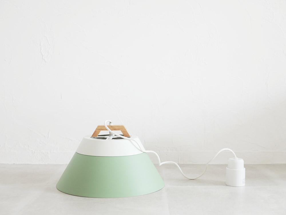 【BRID】LAMP by 2TONE 3バブル ペンダントライト(電球あり) ライトグリーン