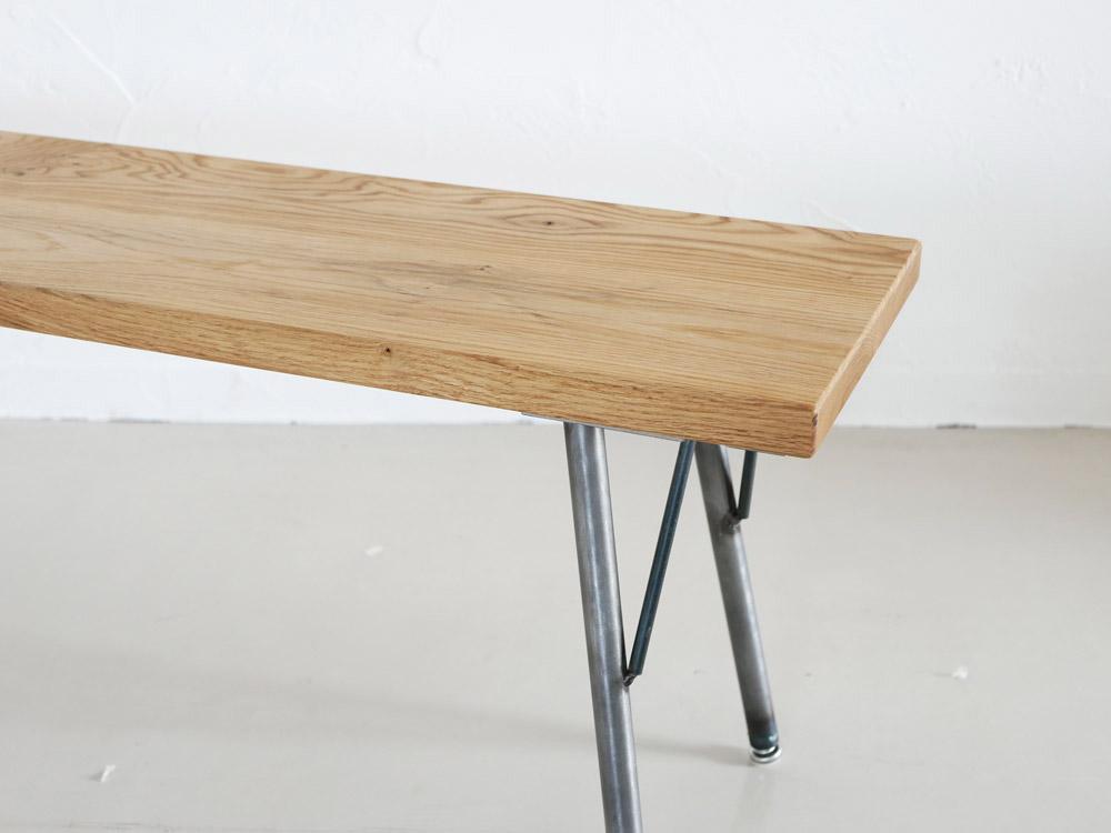【SIKAKU】Oak ベンチ/150cm【受注生産品・メーカー直送・代引き不可商品】