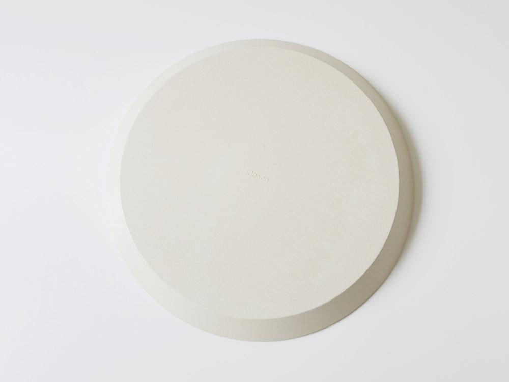 【usumono】plate24 サンドホワイト
