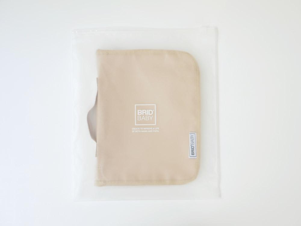 【BRID BABY】母子手帳ケース ベージュ