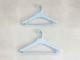 【like-it】Midline 420 滑り止めがついた衣類ハンガー 3本セット ライトブルー