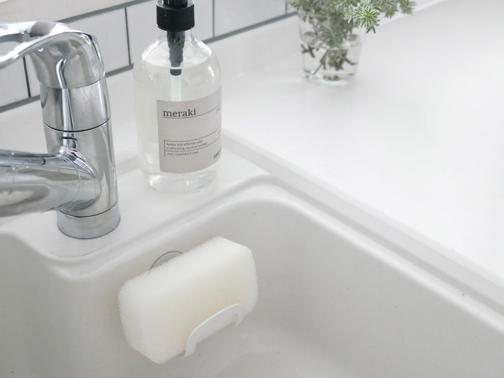 【MARNA】清潔謹製 抗菌キッチンスポンジ 3個セット