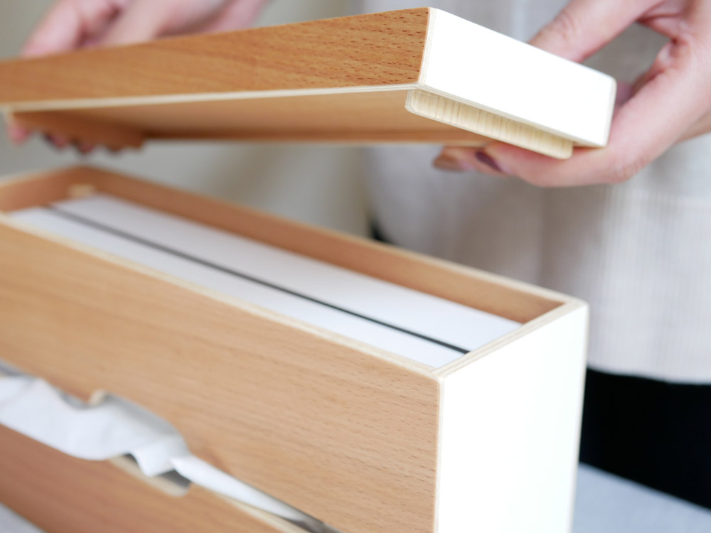 【Ply wood Series】ルーフペーパーボックススリム