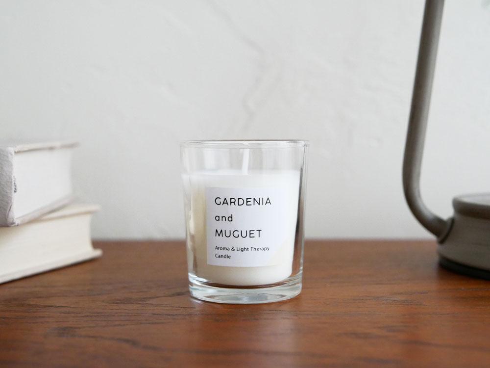 【カメヤマキャンドル】香るキャンドル ガーデニア&ミュゲ