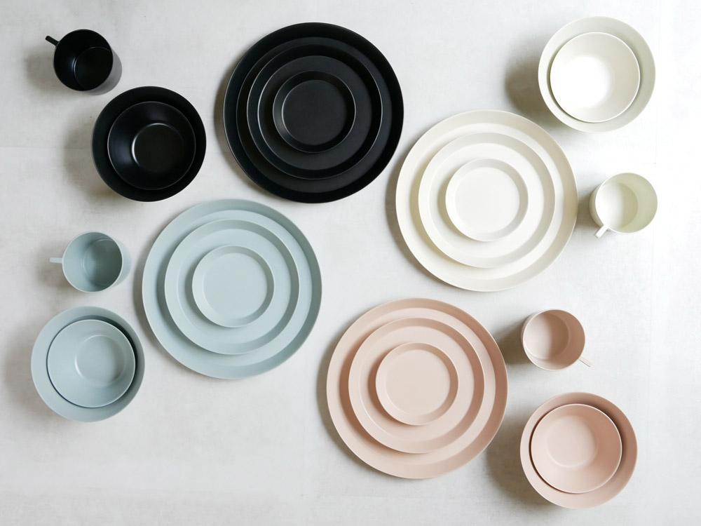 【usumono】plate24 ブラック