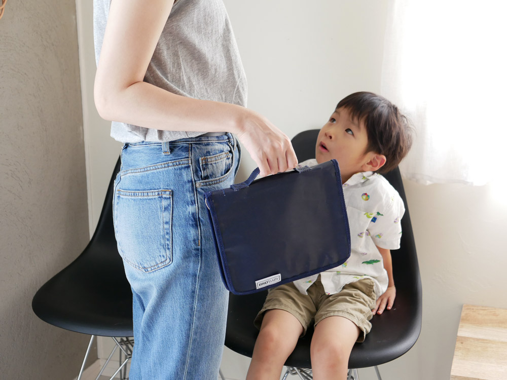 【BRID BABY】母子手帳ケース ネイビー