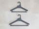 【like-it】Midline 420 滑り止めがついた衣類ハンガー 6本セット ダークグレー
