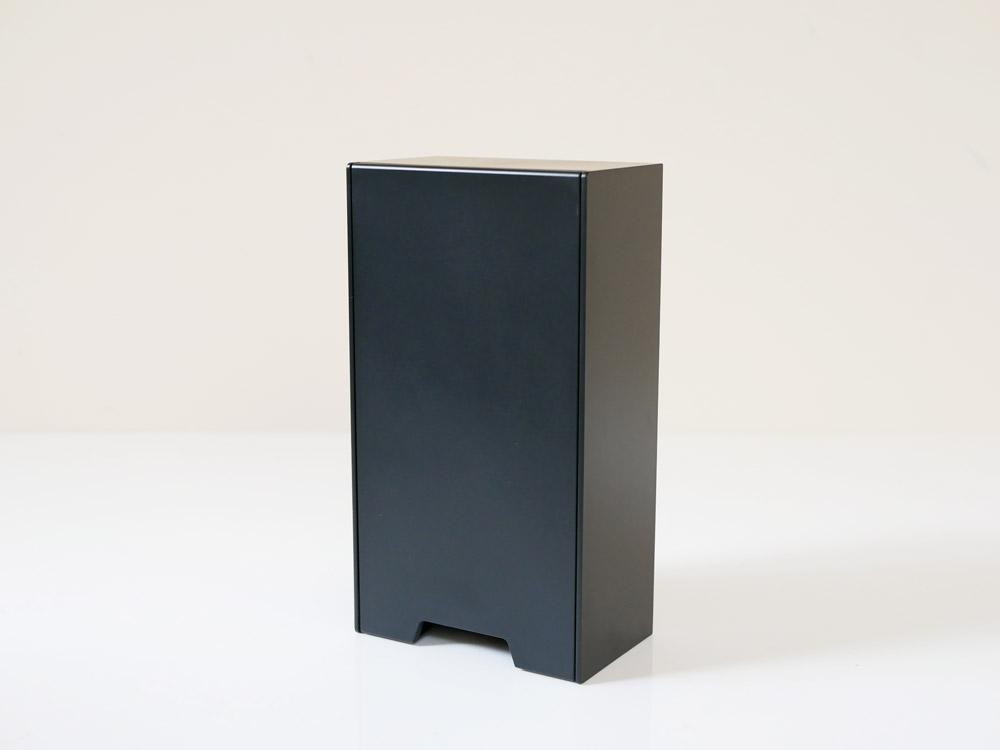 【tower】2way マスク収納ケース スリム ブラック