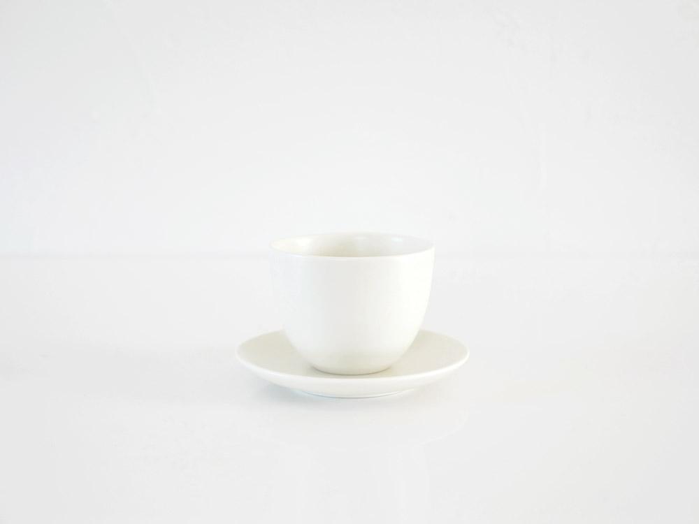 【KINTO】PEBBLE カップ&ソーサー ホワイト