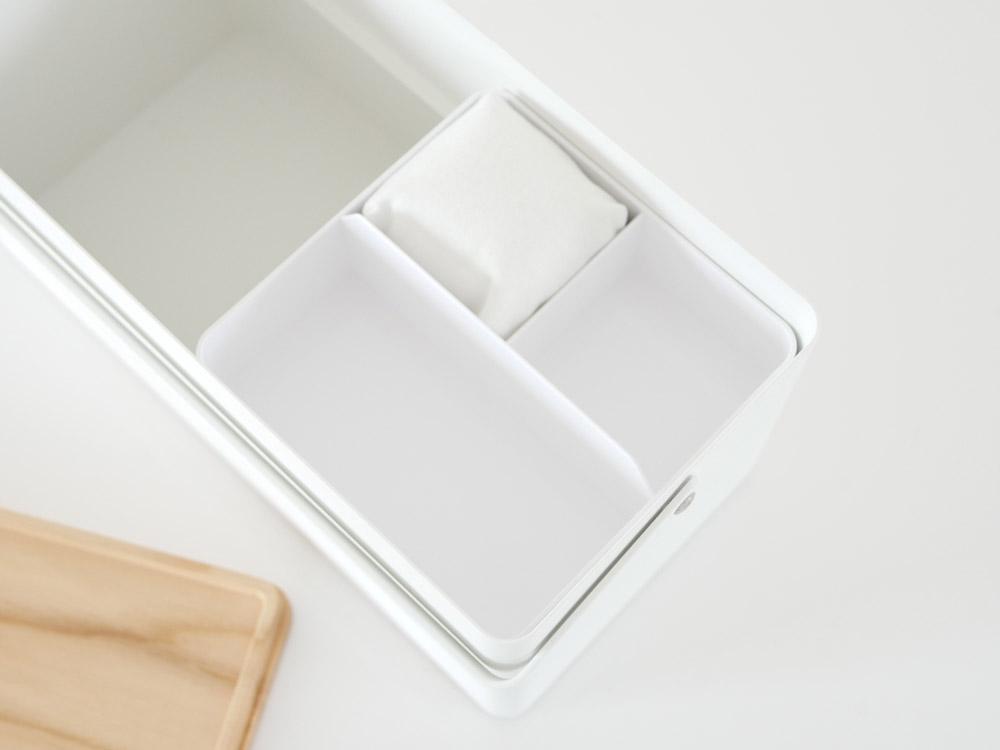 【tower】裁縫箱  ホワイト