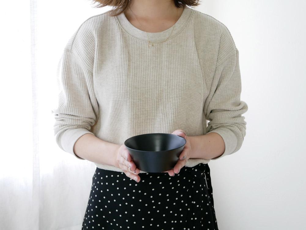 【usumono】mini bowl ブラック