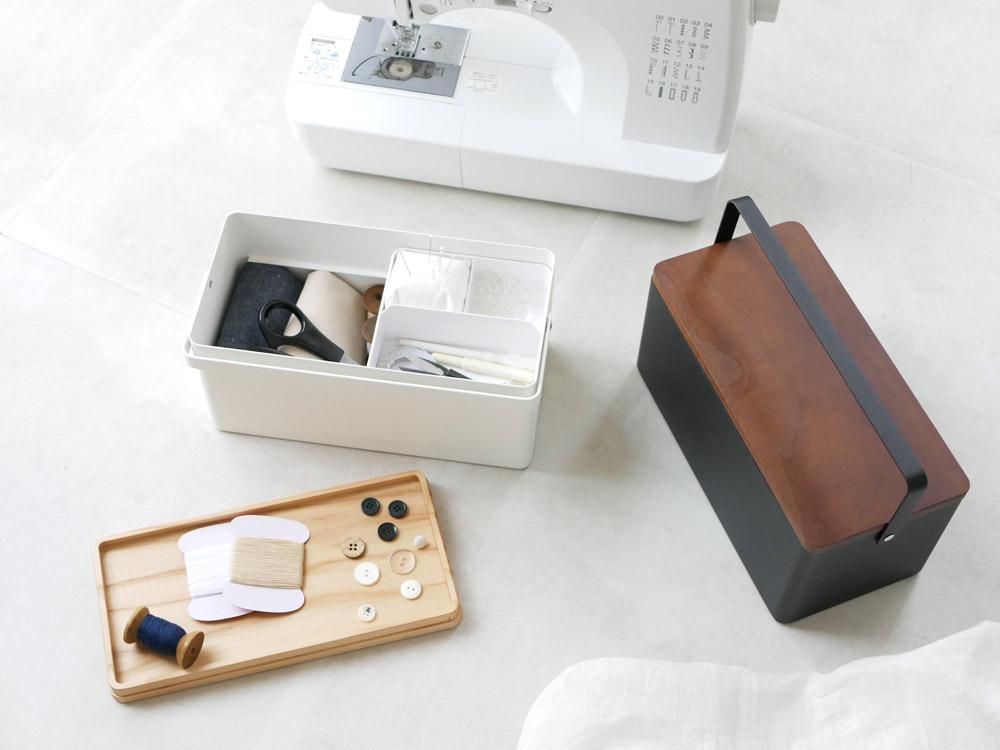 【tower】裁縫箱 ブラック