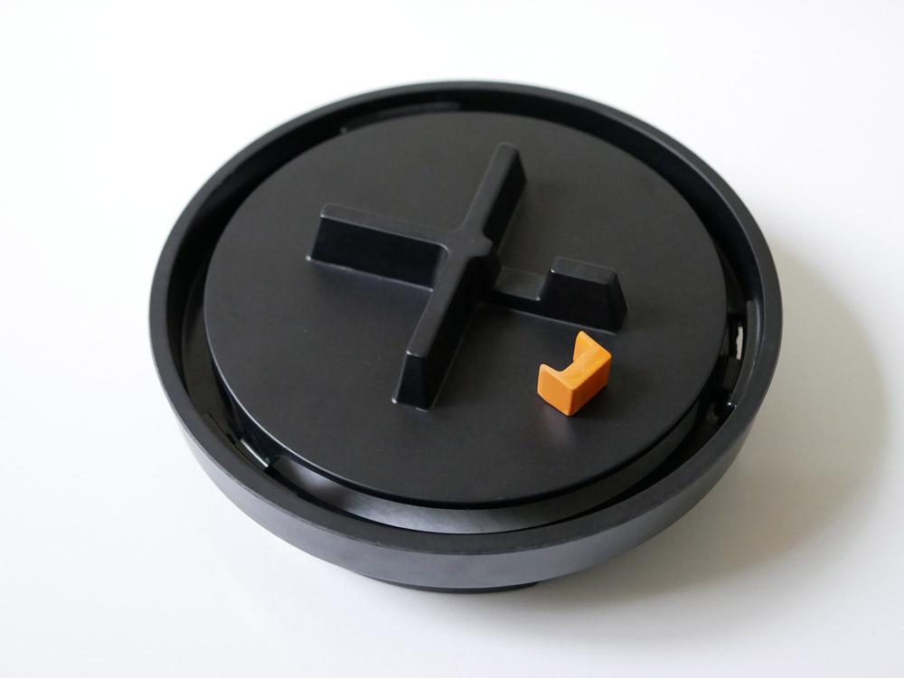 【Manhole 】蚊遣り マンホール ブラック