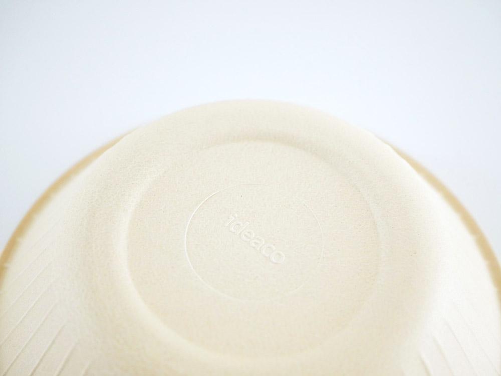 【ideaco】b fiber ボウル 4枚セット オフホワイト
