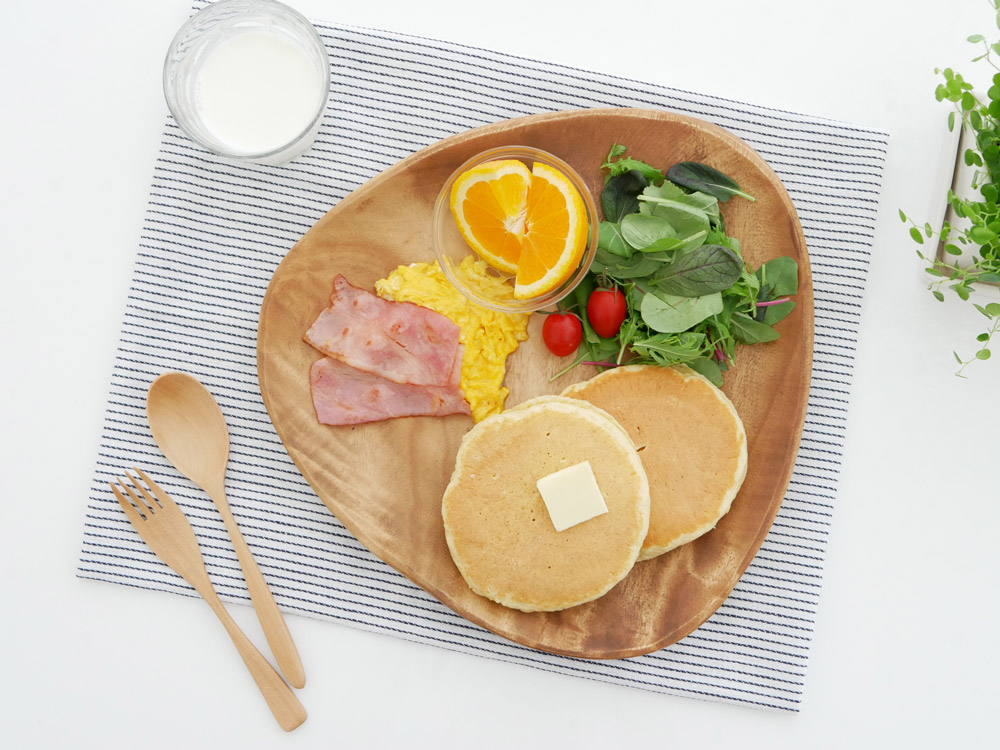 【SALUS】白木カトラリー デザートフォーク