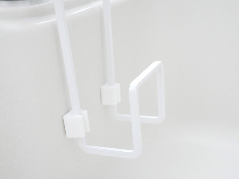 【tower】蛇口にかけるスポンジホルダー シングル/ホワイト