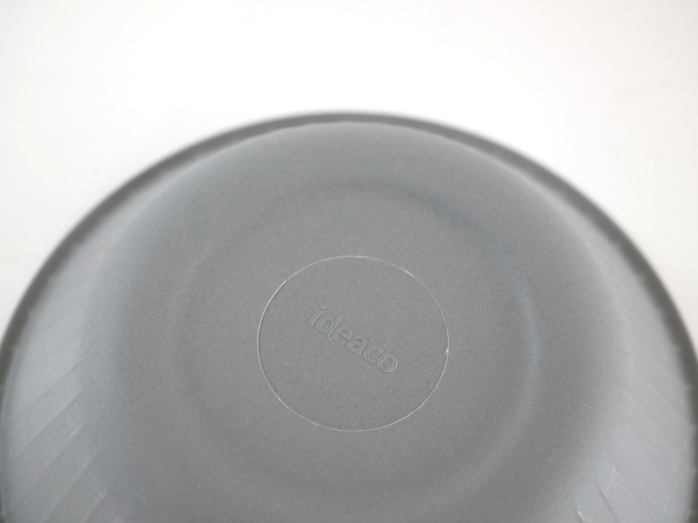 【ideaco】b fiber ボウル 4枚セットアッシュグレー